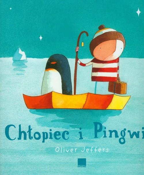 Chłopiec i pingwin z płytą CD Jeffers Oliver