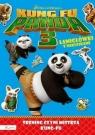 Dream Works Kung Fu Panda 3 Trening czyni mistrza Łamigłówki z naklejkami