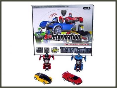 Robot Hipo Auto - Matic Robot 8 cm 2 rodz. 6 kol. (HXSY14)