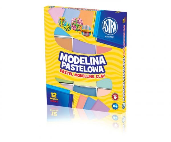 Modelina pastelowa, 12 kolorów (304118007)