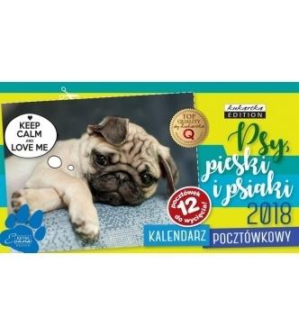 Kalendarz Pocztówkowy Psy 2018 .