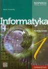 Informatyka 1 podręcznik z płytą CD