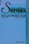 Studia mazowieckie rok VI/XIII nr 3-4 2011
