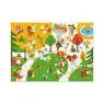 Puzzle flokowane Park 24 elementy (DJ07013)