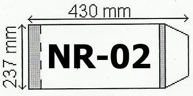 Okładka na podr B5 regulowana nr 2 (50szt) NARNIA