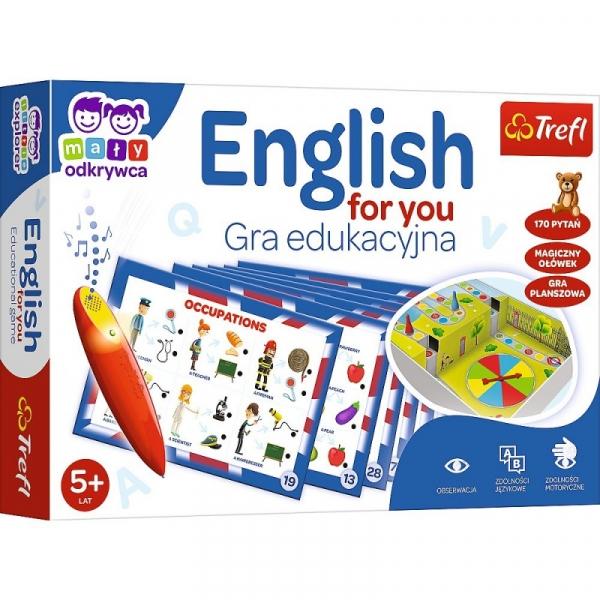 Gra English for you Mały Odkrywca i Magiczny ołówek (02113)