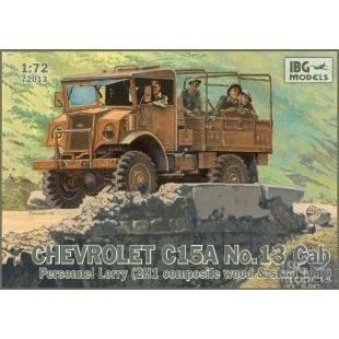 Chevrolet C15A No.13 Cab Personnel