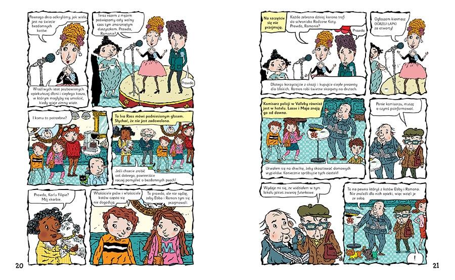 Sabotaż w punkcie skupu i inne komiksy Martin Widmark, Helena Willis