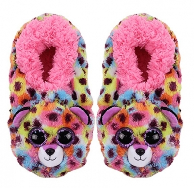TY Fashion Giselle - Pantofle Lampart. Rozmiar S
