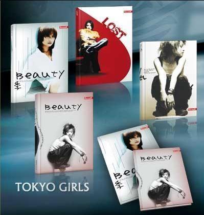Brulion A5/96K/TW kratka 5 szt. Tokyo Girl