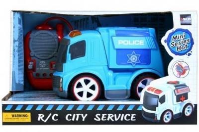 Auto policyjne zdalnie sterowane