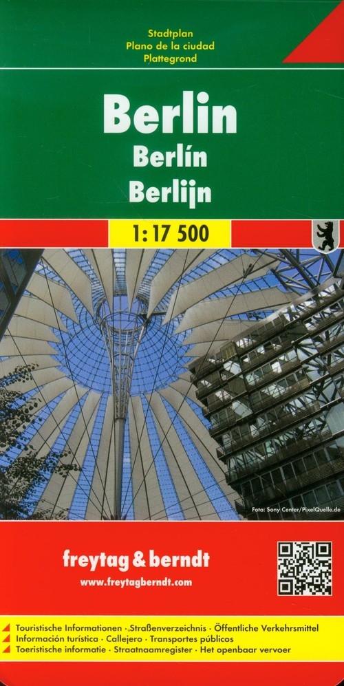 Berlin city map 1:17 500