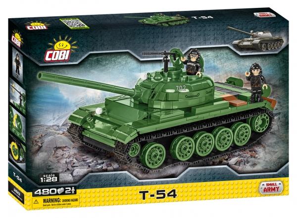 Cobi: Mała Armia. T-54 - radziecki czołg podstawowy (2613)