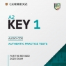 A2 Key 1 for the Revised 2020 Exam Audio CDs