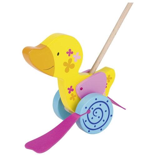 Pchacz Kaczka Susibelle - zabawka do pchania (GOKI-54913)
