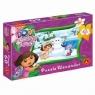 Puzzle 60 Dora poznaje świat Lepimy bałwana (1113)