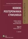 Kodeks postępowania cywilnego Komentarz Tom V. Artykuły 1096-1217 Hrycaj Anna, Jakubecki Andrzej,r Rylski Piot