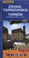 Ziemia Tarnowska Tarnów Mapa turystyczna 1:100 000