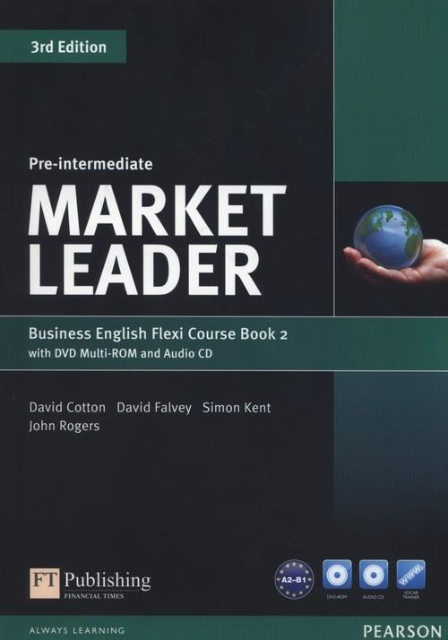 Market Leader Pre-Intermediate Flexi Course Book 2+CD +DVD Cotton David, Falvey David, Kent Simon, Rogers John