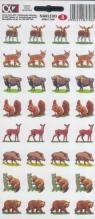Naklejki Alfika i Zetki 8 Zwierzęta leśne