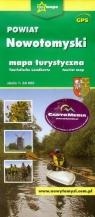 Powiat Nowotomyski mapa turystyczna 1:60 000