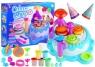 Ciastolina Zestaw Urodzinowy 6 kolorów akcesoria