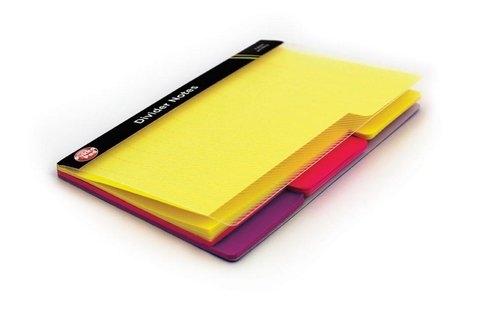 Przekładki samoprzylepne Pukka Pad 60 sztuk 3 kolory (6713-NTS)