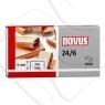 Zszywki miedziowane Novus 24/6 X 1000 (040-0206)