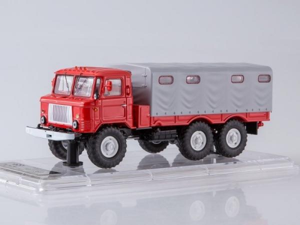 GAZ-34 Flatbed Truck with Tent (SSML013)