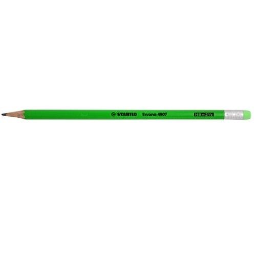 Ołówek Grafito z gumką Hb zielony