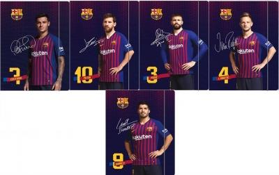 Teczka z gumką FC Barcelona Barca Fan 7 ASTRA