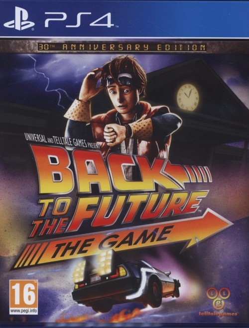 Back to the Future The game PS4