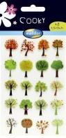 Naklejki 3D Drzewa