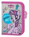 Piórnik dwuklapkowy bez wyposażenia My Little Pony