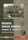 Historia miasto pamięć