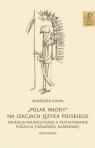 Polak młody na lekcjach języka polskiego