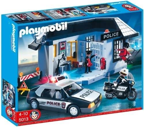 Zestaw figurek Posterunek policji z więzieniem 5013 (5013)