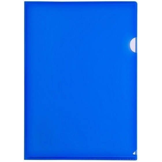 Obwoluta, ofertówka A4 Tetis, 12 szt. - niebieska (BT615-N)