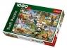 Puzzle 1000 Zwierzęta świata  (10313)