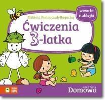 Ćwiczenia 3-latka. Domowa Akademia Pietruczuk-Bogucka Elżbieta