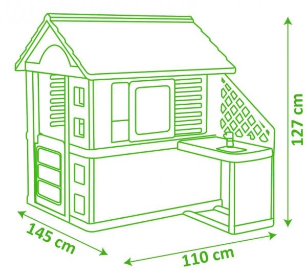 Domek Nature z kuchnią (7600810713)