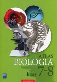 Biologia. Atlas. Klasy 7-8. Szkoła podstawowa Michalik Anna