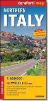 Northern Italy laminowana mapa samochodowa 1:650 000