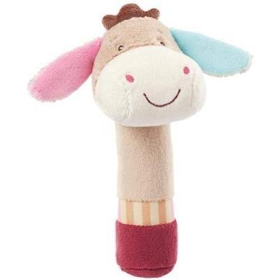 Zabawka do rączki z piszczałką Osiołek 16 cm