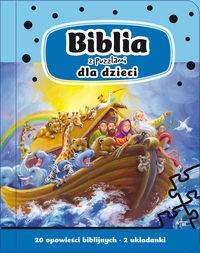 Biblia z puzzlami dla dzieci Juhl Anja