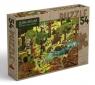 Leśna kraina. Puzzle 54 Dziubak Emilia
