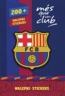 Zestaw nalepek 200 + FC Barcelona