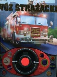 Wóz strażacki + kierownica książeczka dźwiękowa (Uszkodzona zawartość) Keast Jennifer H.
