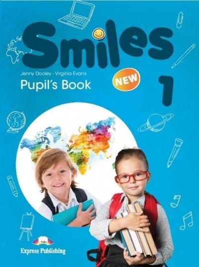 Smiles New 1, język angielski. Podręcznik, wersja wieloletnia Jenny Dooley, Virginia Evans