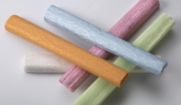 Bibuła marszczona perłowa 5 kolorów (HA 3640 2520-MIX Perła)
